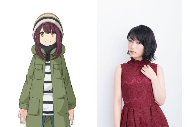 TV动画「摇曳露营△」第二季追加声优:黑泽朋世