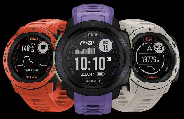 Garmin将与「EVA」联名推出Instinct系列智能手表