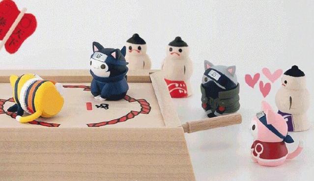 「火影忍者」手办ニャルト喵影第2弹9月3日开始预售
