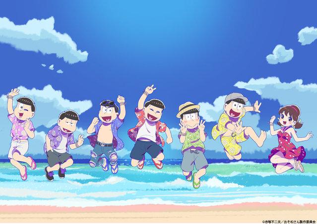 TV动画「阿松」第3季放送纪念活动视觉图公开