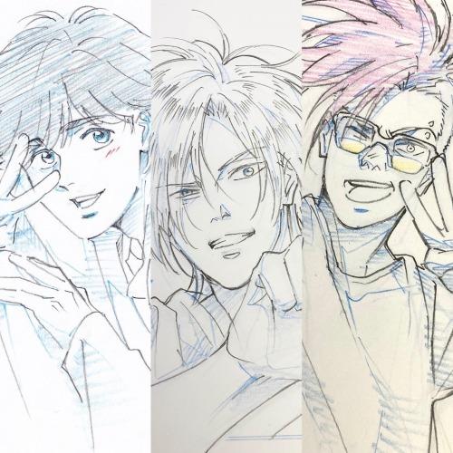 动漫「BANANA FISH」角色设计林明美近日绘制更新
