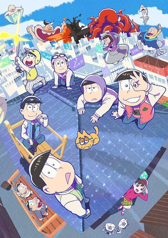 「阿松」第三季新视觉图公开 十月开播