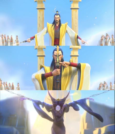 动画电影「姜子牙」发布制作特辑之二维篇
