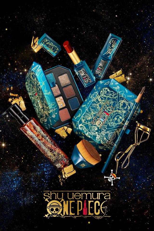 ONE PIECE × 植村秀 联名款化妆品发售公开
