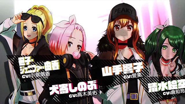 电视动画「D4DJ First Mix」PV公开