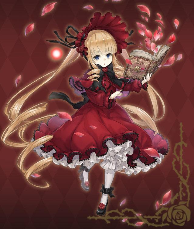 「蔷薇少女」联动手游「死亡爱丽丝」立绘公开