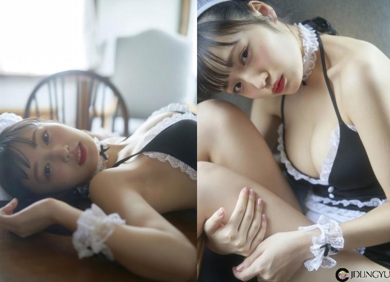 童颜巨乳来袭!19 岁「安藤咲樱」最新写真曝光!化身「爆乳女仆」送诱惑