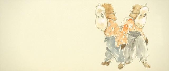 汤浅政明执导动画《犬王》释出松本大洋绘制角色草案图
