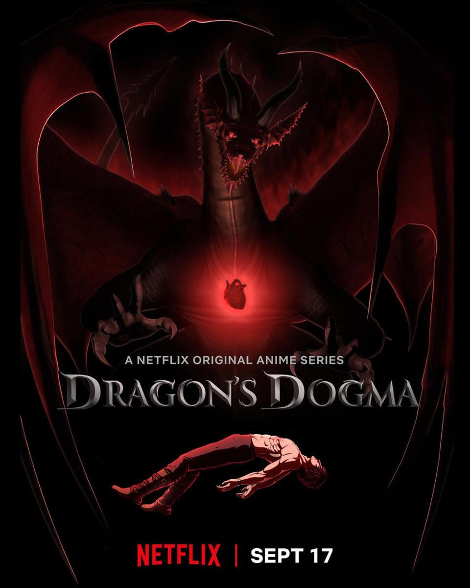 CAPCOM 经典游戏改编动画《龙族教义 Dragon's Dogma》9 月将于 Netflix 开播
