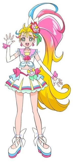 「Tropical-Rouge!光之美少女」公开角色视觉图