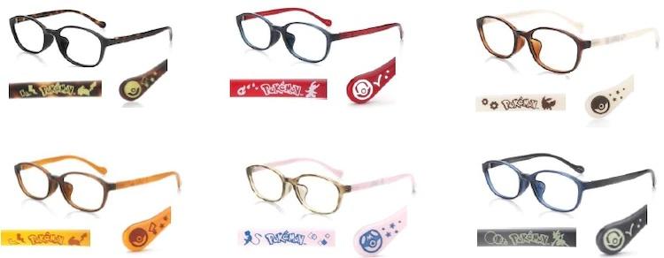《宠物小精灵》的JINS合作款眼镜发售