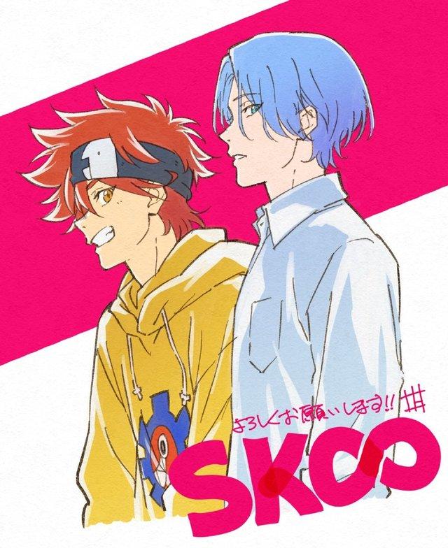TV动画「SK∞ エスケーエイト」作画监督绘图公开