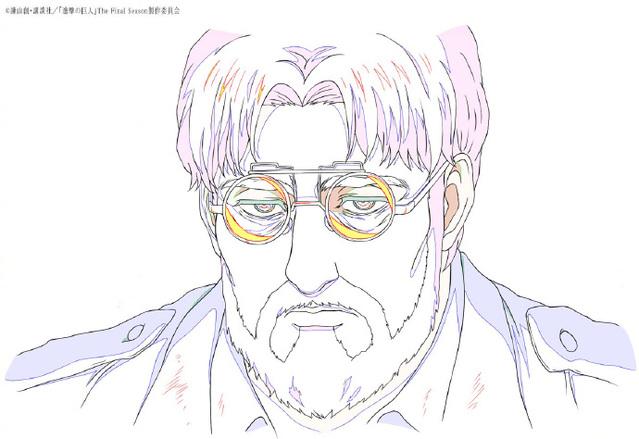 「进击的巨人 最终季」第74话感谢绘及原画公开