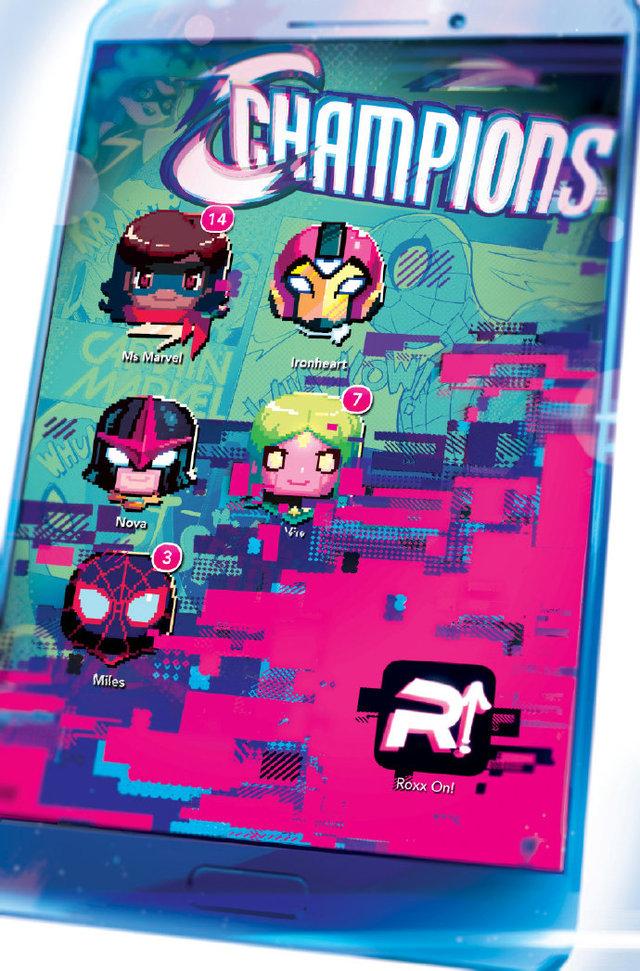 画师绘制「冠军小队」第8期变体封面图公开