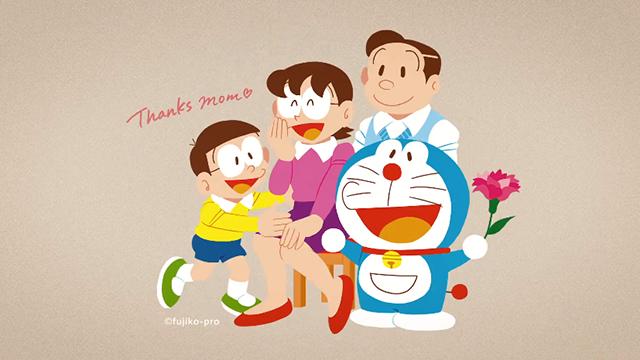 「哆啦A梦」母亲节纪念CM公开