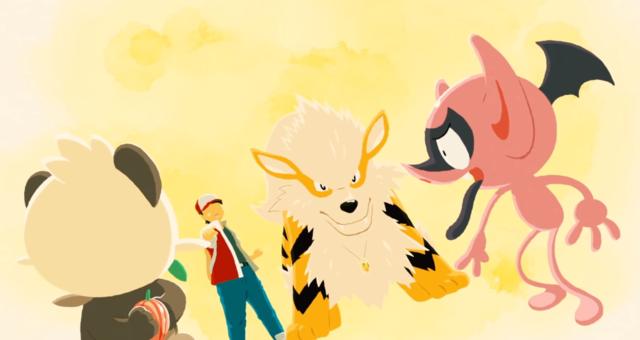 宝可梦官方公开新短篇动画「想成为英雄的顽皮熊猫」