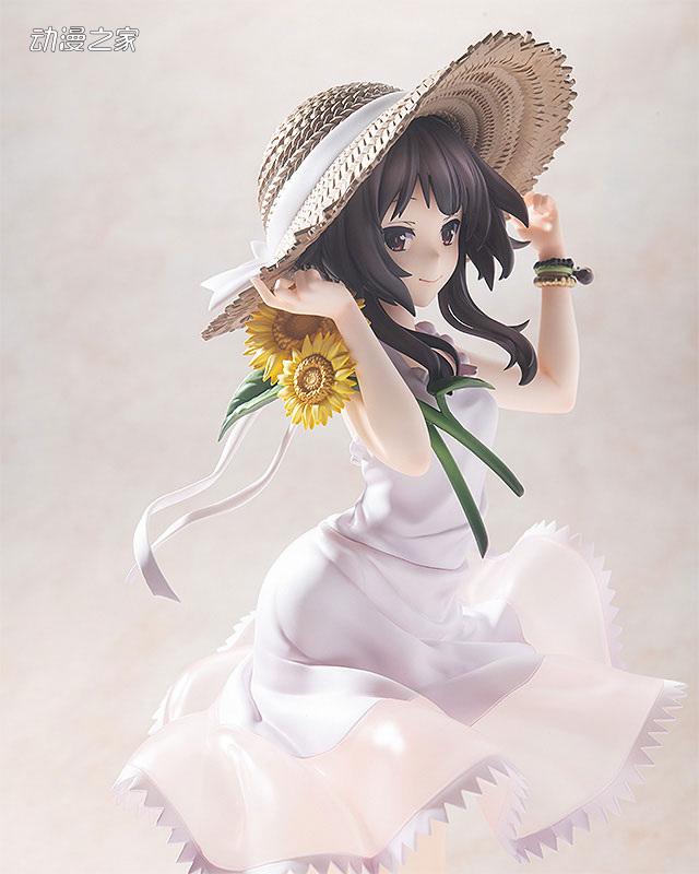 KDcolle《为美好的世界献上祝福!》惠惠向日葵连衣裙版手办