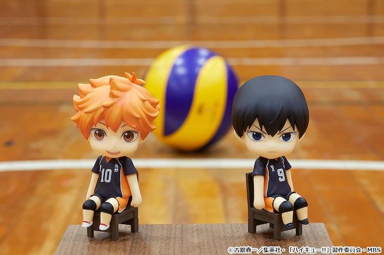 """《排球少年!!》日向和影山加入GSC""""坐吧粘土人"""""""
