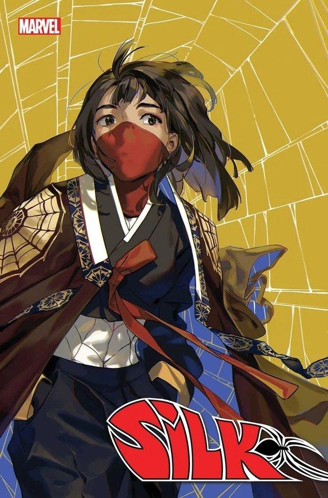 画师绘制「蛛丝」第5期变体封面图公开