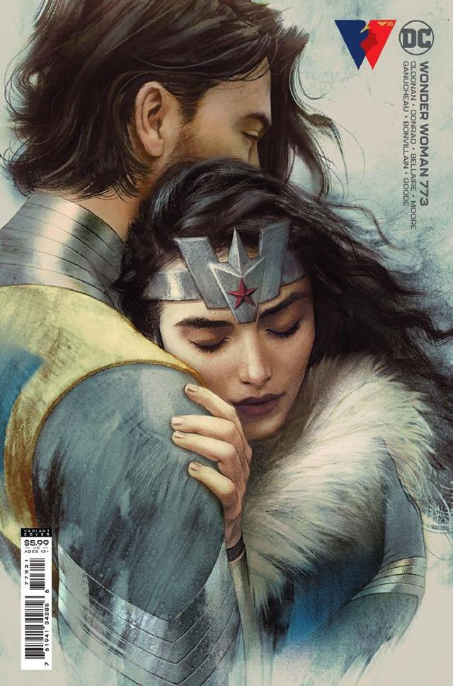 DC漫画「神奇女侠」第773期近期封面公开
