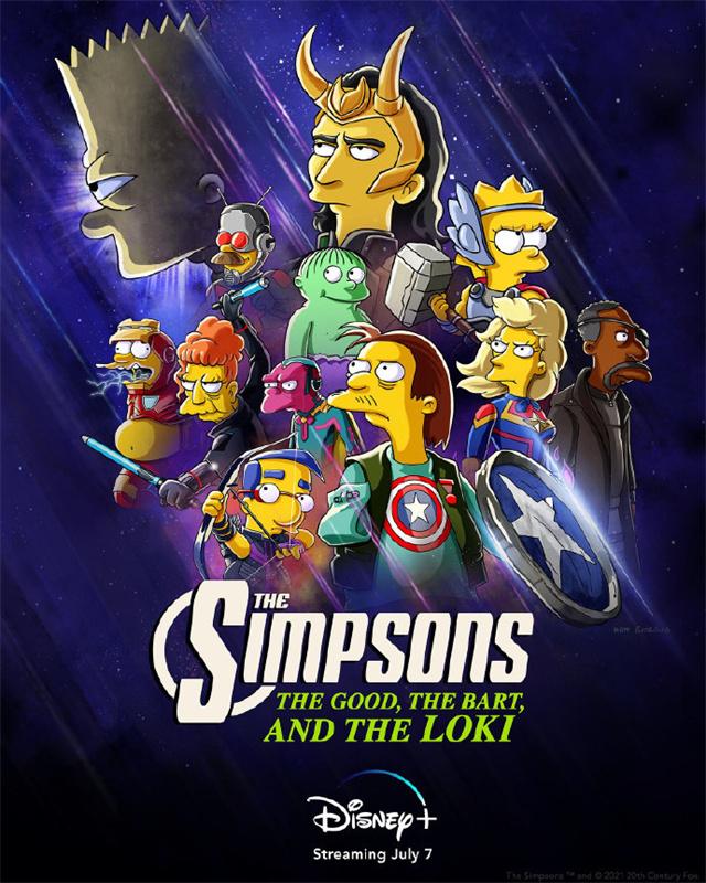 「辛普森一家」新动画短片海报公布