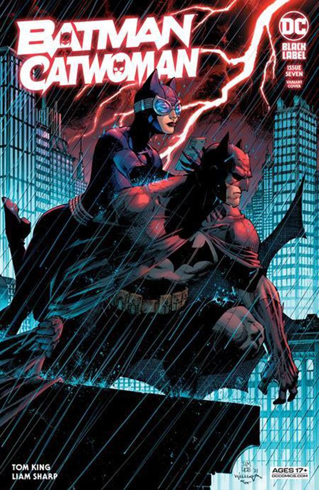 「蝙蝠侠/猫女」第7期变体封面公开