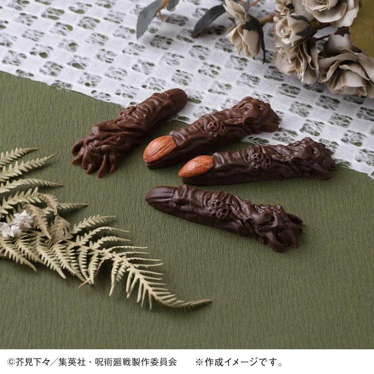 制作《咒术回战》宿傩之指的巧克力模具诞生