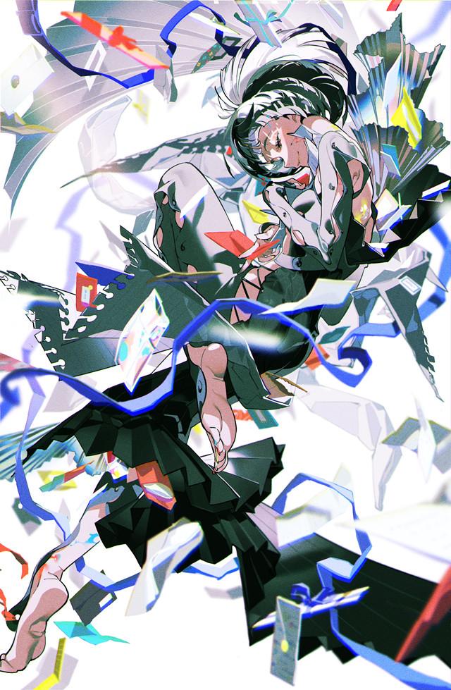 日本知名插画师米山舞公开新绘