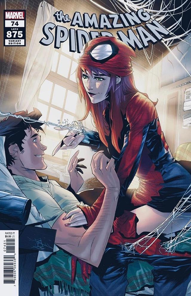 「神奇蜘蛛侠」第74期变体封面公开