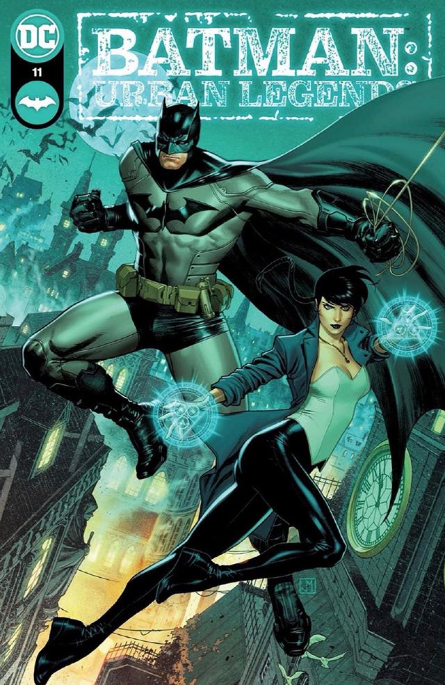 「蝙蝠侠:城市传奇」第11期封面公开