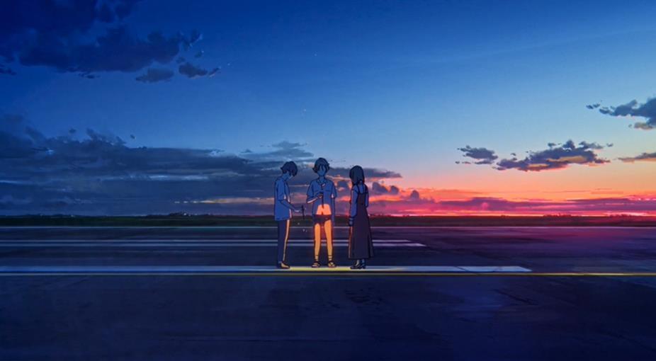 动画电影「夏日幽灵」公开正式预告