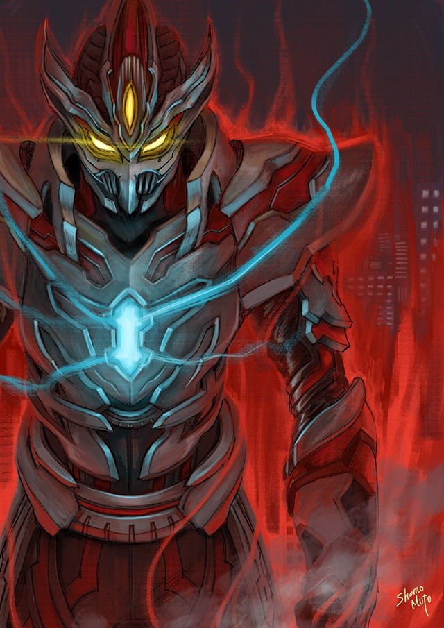 「特利迦奥特曼」设计师公开全新黑暗巨人设计图
