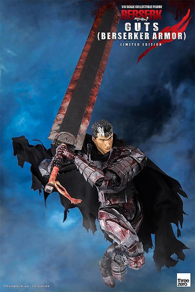 「剑风传奇」格斯限定版手办开订