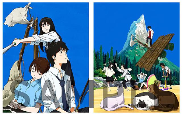TV动画「漂流少年」Blu-ray BOX主封面插图公开