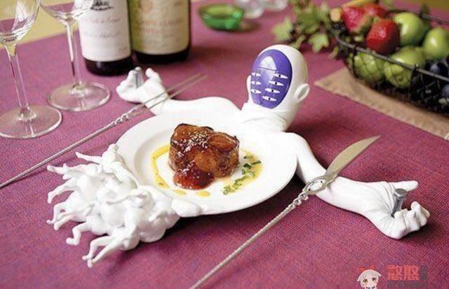 【动漫杂谈】EVA莉莉丝被做成餐具,这顿饭吃出了仪式感