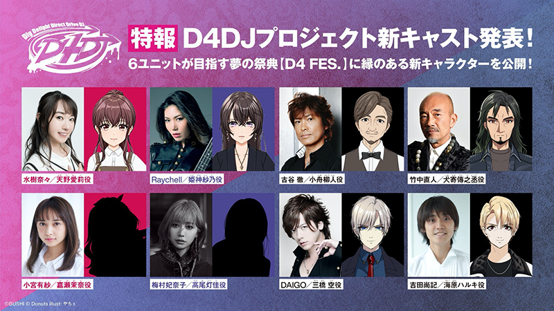 TV动画「D4DJ First Mix」将于10月30日播出