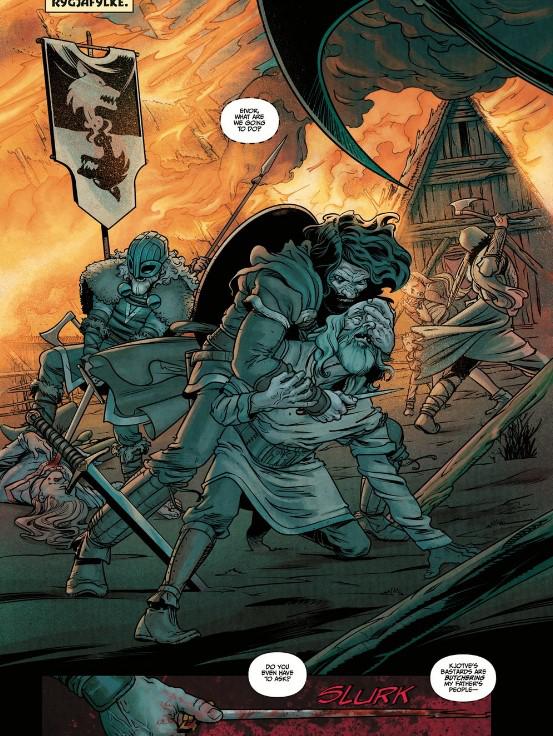 「刺客信条:英灵殿」前传漫画预览发布