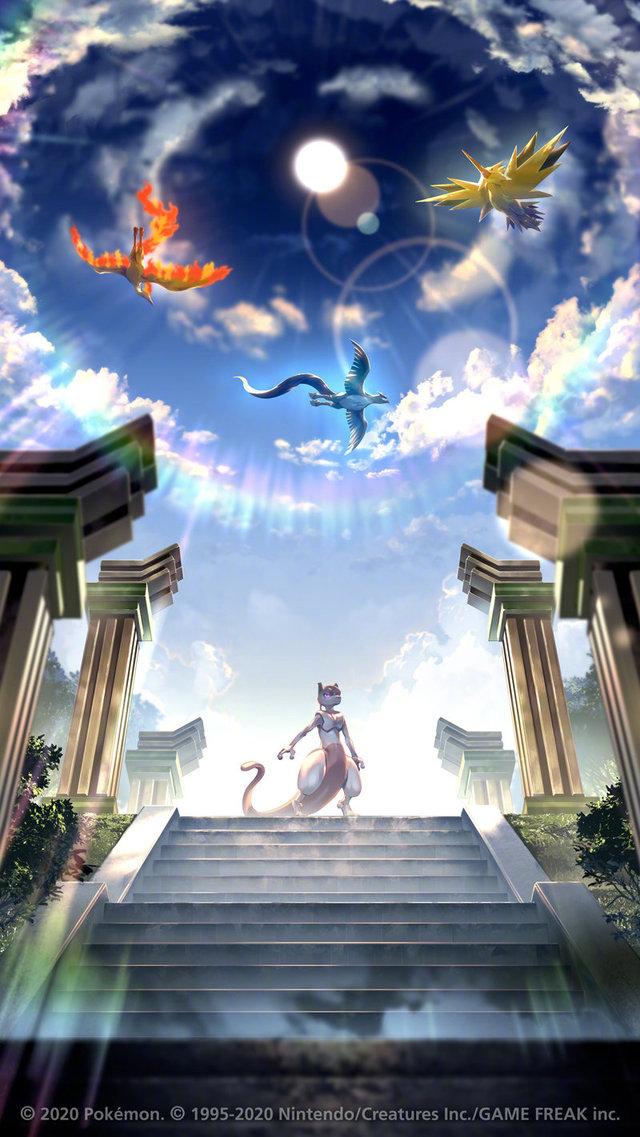 「宝可梦 剑盾 冠之雪原」官方纪念壁纸发布