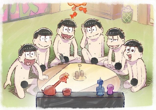TV动画「阿松」第3季公开开播视觉图