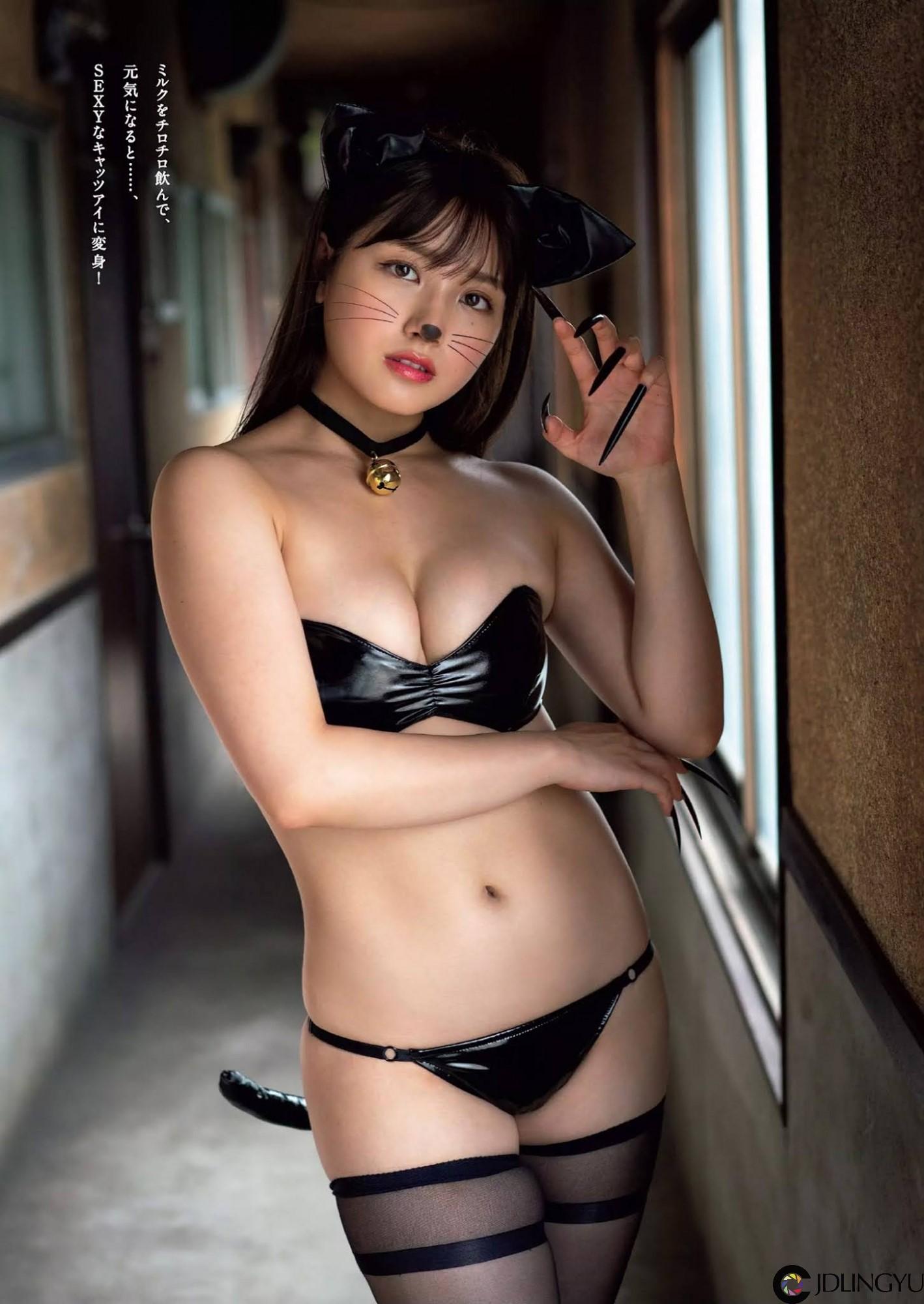 前AKB48最强美少女「大和田南那」化身肉感小猫咪求收养 「浑圆北半球」色气狂炸
