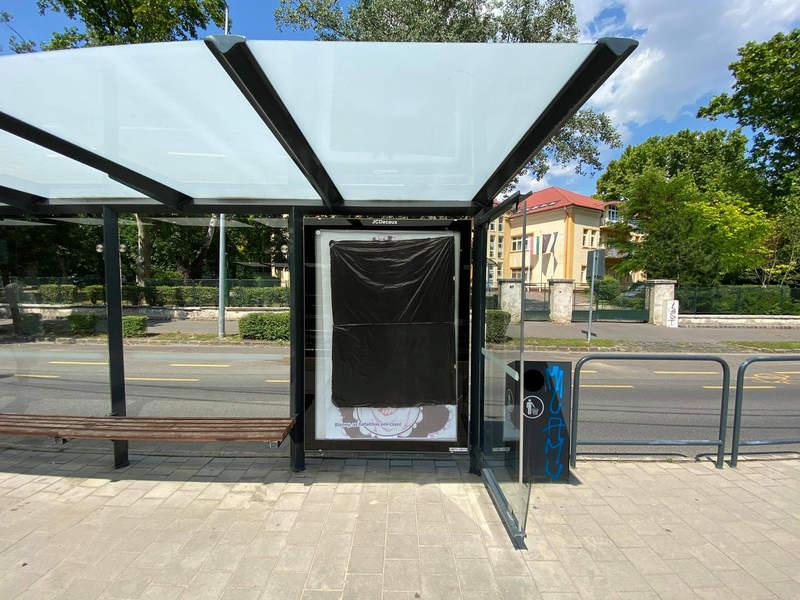 《匈牙利公车站二次元美少女广告争议》谁是雷姆?是歧视吉普赛人的海报女主角……