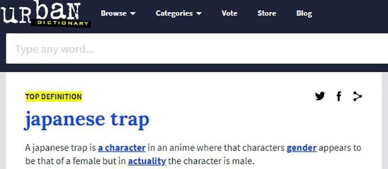 《日本陷阱Japanese Trap》日本动画总爱画个女人说她是男人?欧美宅宅被骗惯了……