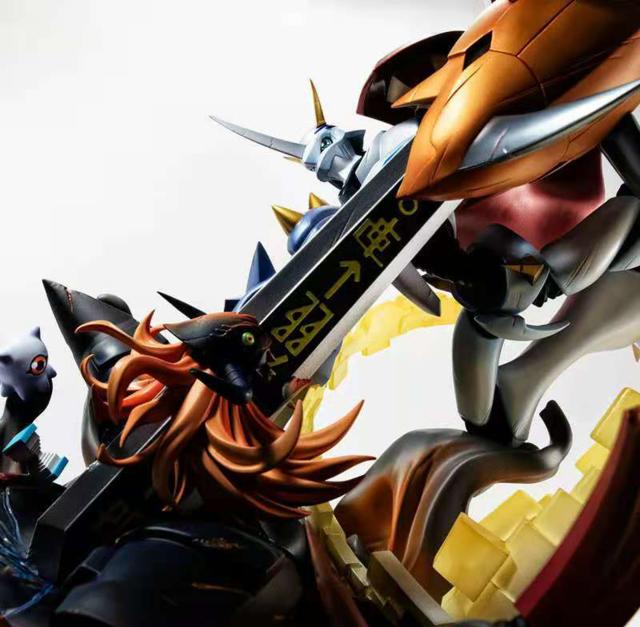 「数码兽大冒险 我们的战争游戏」奥米加兽手办开订