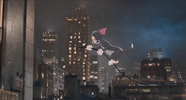 真人动画电影「猫和老鼠」最新预告片公开