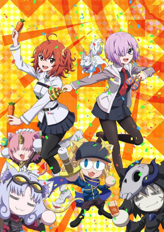 「Fate/Grand Carnival」即将发售OVA并公开主视觉图