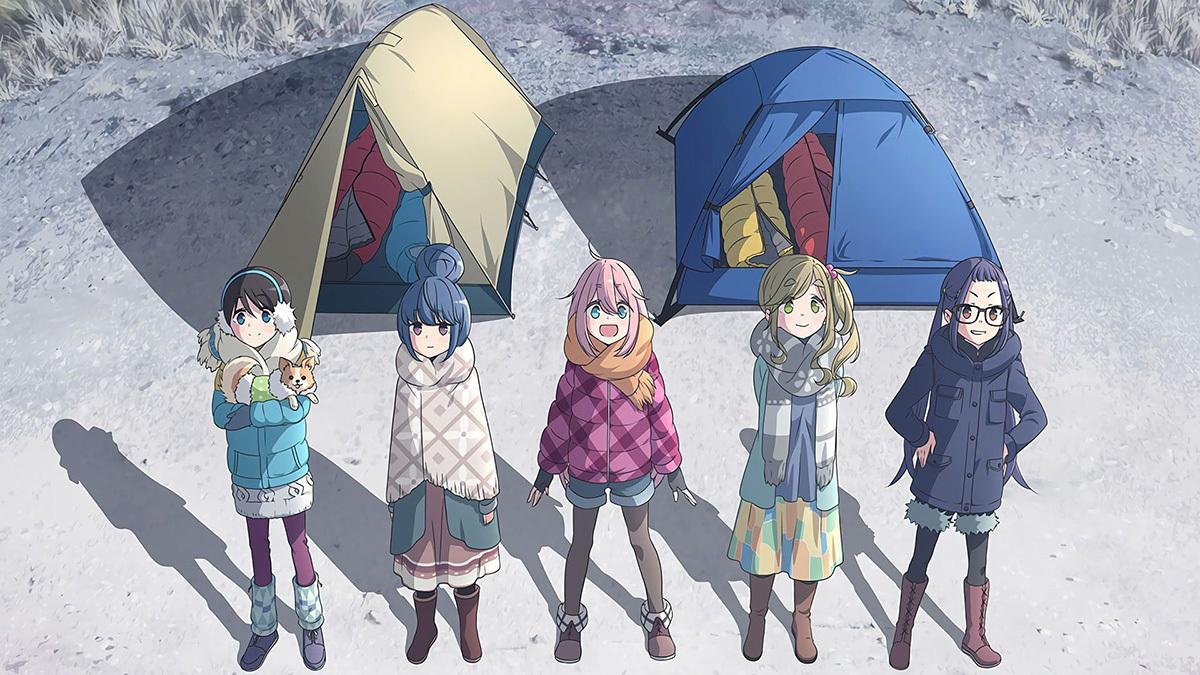 跟着「欧派」去野营!?超疗愈《女子孤身露营野炊》踏遍日本风景!