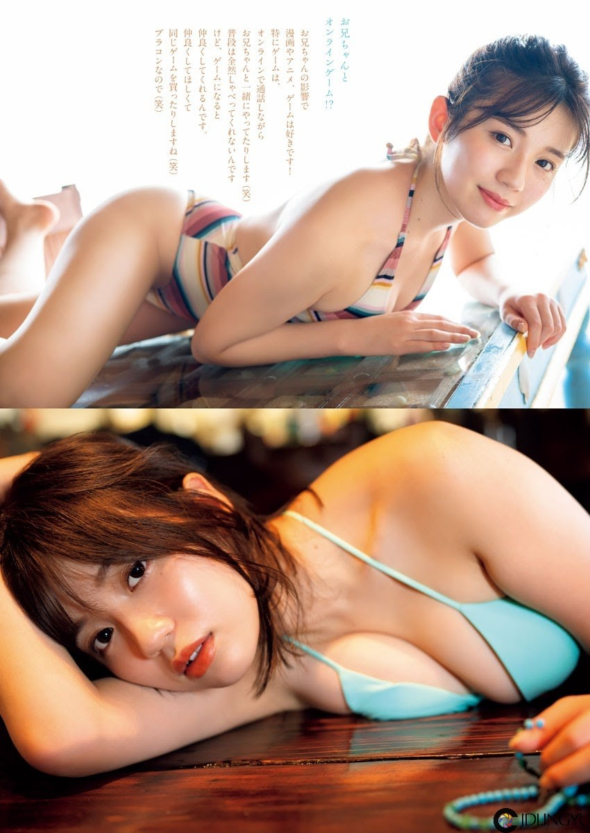 魅力横扫写真界!23 岁偶像「早见纱英」新写真辣晒美乳+167 cm 高挑身材