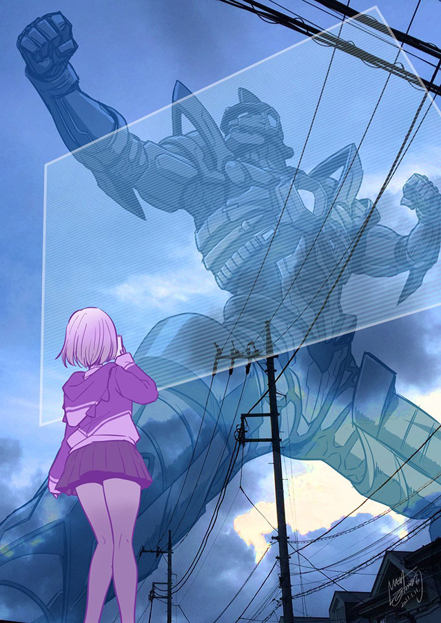 漫画家西川伸司公开了为重播的「SSSS.GRIDMAN」绘制的宣传图