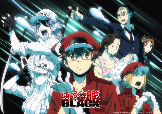 「工作细胞BLACK」第3、4话将组成1小时特别篇