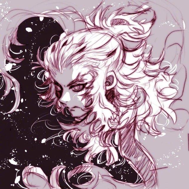 「水星领航员」作者天野梢绘制的「鬼灭之刃」绘图公开
